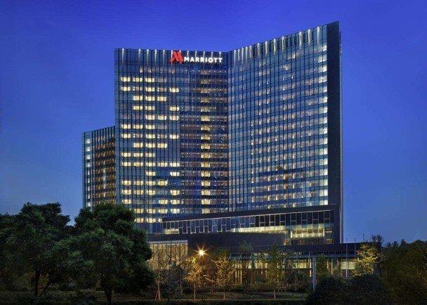 万豪酒店。
