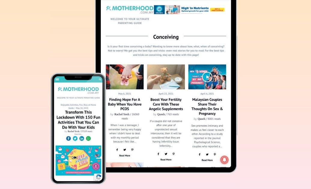 截至目前为止,Motherhood.com.my和Kelabmama.com供有500万会员,用户遍及马来西亚、新加坡和泰国,当中以本地人居多。