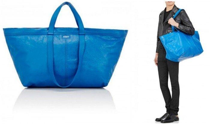巴黎世家包包要價近1萬 遭譏諷像IKEA購物袋