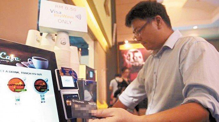 中國電子支付成熟 大馬只是起步