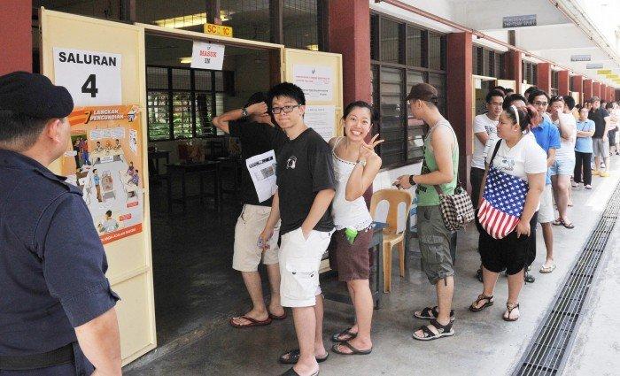 华人选票情归何处?