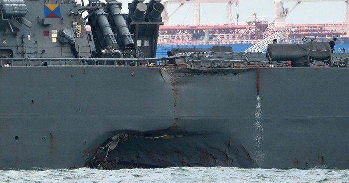 政府重启「麦凯恩號」搜救行动 继续搜寻失踪水手