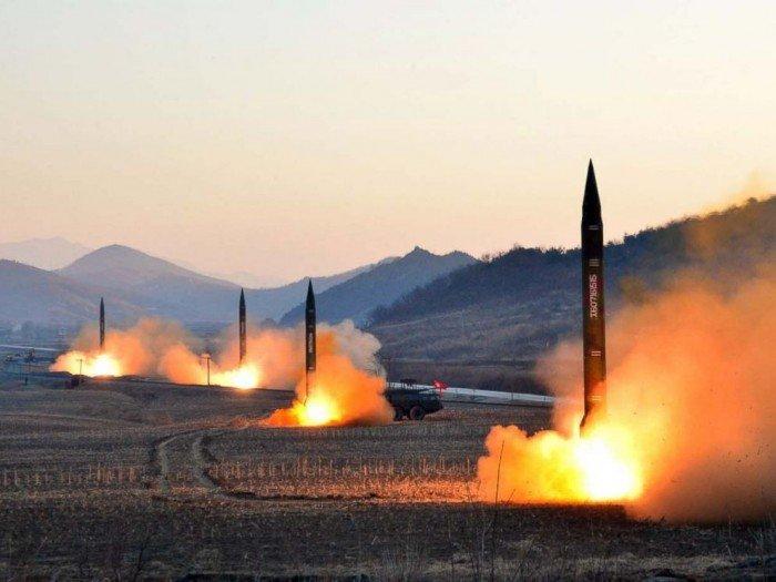 朝鲜今晨射3飞弹 美军:失败又自爆