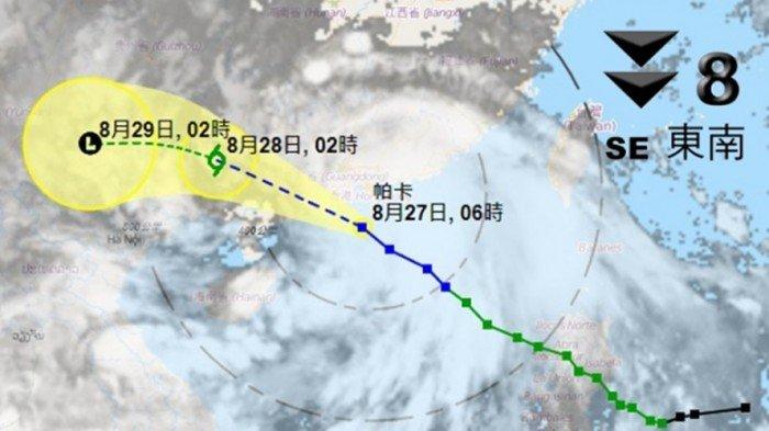 颱风「帕卡」来袭 香港多班航班取消