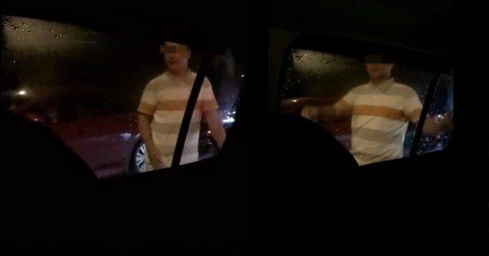 網傳轎車與休旅車碰撞視頻 司機爆粗譏邁威引熱議