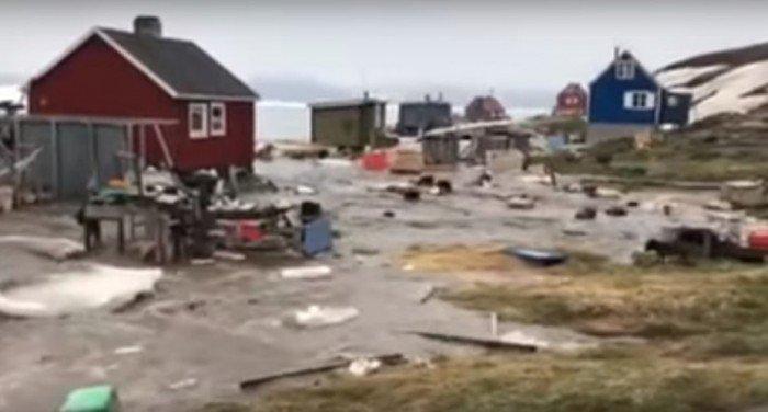 北欧地震后引发海啸 4人被冲走失踪