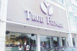 True Fitness 連鎖健身中心在本月10日突然關閉,震驚教練、會員,以及員 工。(攝影:陳啟新)
