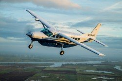 與失事軍機同型的Cessna Caravan飛機。