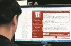 勒索軟件「WannaCry」襲擊全球電腦,引起恐慌,也在不斷變種加強。-路透社/韓聯社-