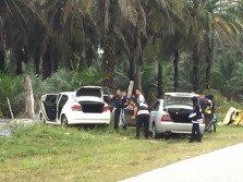 警方在霹州亞亦君令與匪徒發生駁火案,並成功將一名重犯「PUMP」匪黨霹州頭目殲滅。