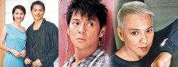 2000年洪欣未婚懷孕,可惜兒子出世後兩人正式分手。