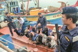關丹漁民希望漁業局與大馬海事執法機構加強執法,阻止越南漁民非法入境捕撈海參。