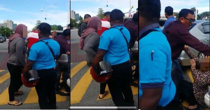 2婦女為爭車位起爭執 視頻被瘋傳