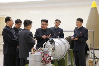 朝鲜研发百分百国產氢弹 可装在洲际弹道导弹