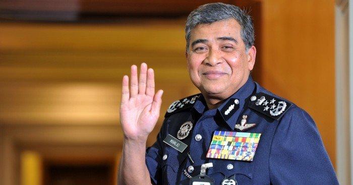 警队生涯40年 警总长卡立明荣休