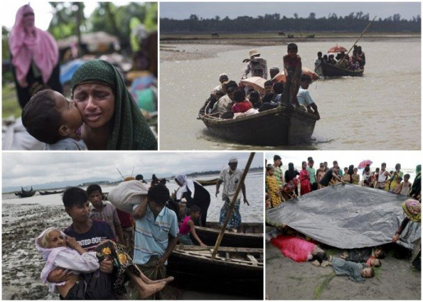 缅军涉活活烧死罗兴亚平民 將小孩斩首
