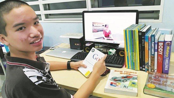 自学编码 14岁神童研发50款Apps