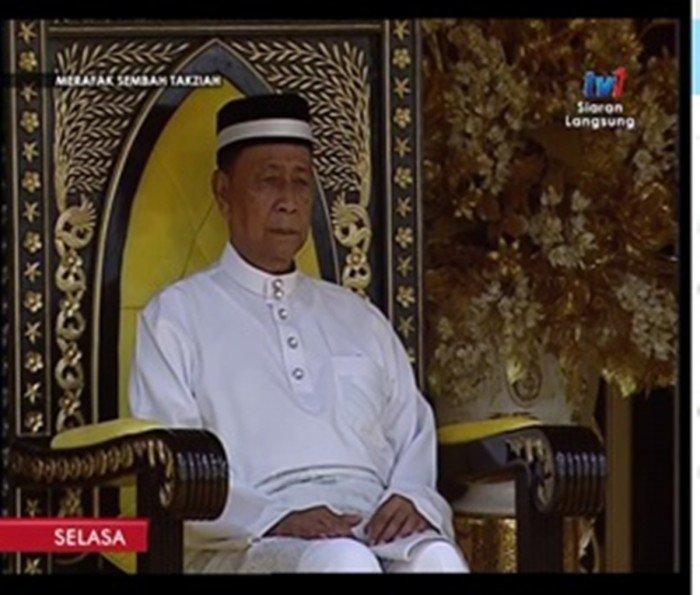 吉打州王儲繼任王位 冊封為第29任蘇丹
