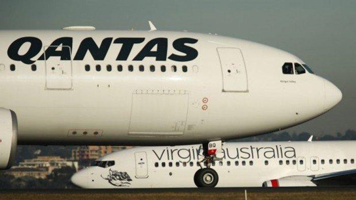 悉尼机场全部航班停飞 数千人滯留