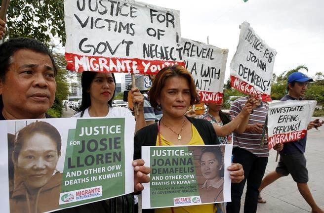 夫婦殺死菲傭 科威特法院判絞刑