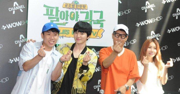 韓國節目《Sales King TV》來馬 4藝人電視購物挑戰「完售」