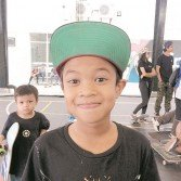 11歲的滑板天才伊恩-阿姆里,是大馬在本屆亞運會代表團中最年輕的選手。