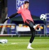 由於納瓦斯在歐洲超級杯丟4球,今夏加盟的庫爾圖瓦(圖)有機會上位,成為皇家馬德里的頭號門將。