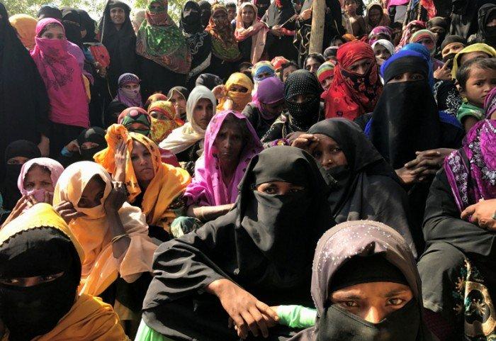 孟加拉的羅興亞人