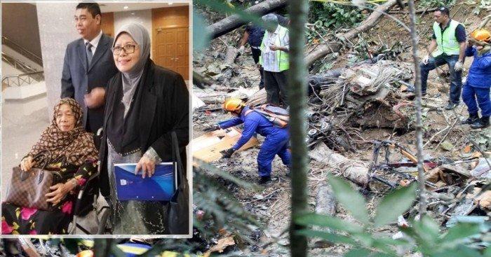 前科藝部長直升機墜毀逝世 母入稟申請索兒20億財產
