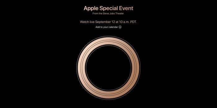 蘋果912日舉行發布會 料有3款新機亮相