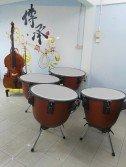 許維駿希望透過此次音樂會,籌足資金為華樂團購買一套定音鼓。
