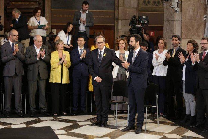 加泰羅尼亞新政府成立 西班牙中央統治結束
