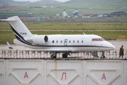 一架疑屬土耳其空軍的飛機,周五停在烏蘭巴托機場,被蒙古國當局阻止起飛。據傳一名土耳其男子被強擄上機。