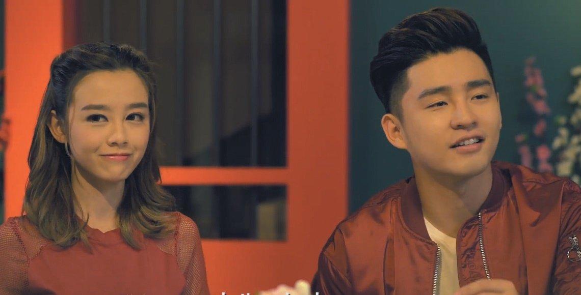 何念兹和锺瑾桦合作的新年短片,在网络上引起很大的关注。