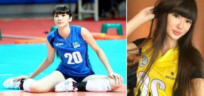排球美少女變成熟 網民:滿滿塑膠感