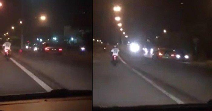 【視頻】北海外環公路出現逆向行駛 77歲華裔老翁遭扣留查辦