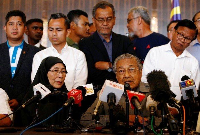 馬哈迪:直接取消消費稅