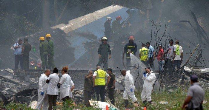 古巴航空坠机至少111死