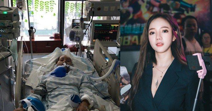醫生「失手割破動脈」 美女網紅險死手術台
