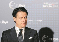 意大利總理孔特。