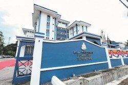 耗資1800令吉興建的昔加里新警局,擁有5層樓高的警員宿舍及警局。