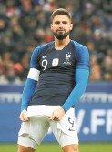 吉魯除了打進了自己在法國國家隊的首個點球,同時也收穫國家隊第33球。