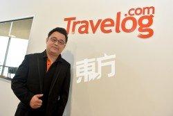 Travelog.com創辦人許仙之 來自中國山東,畢業自本地學院的電腦科技系。