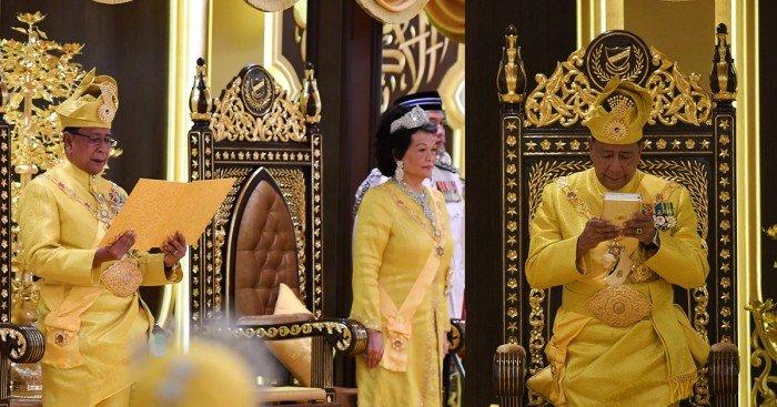 沙列胡丁殿下正式登基 成第29任吉打蘇丹