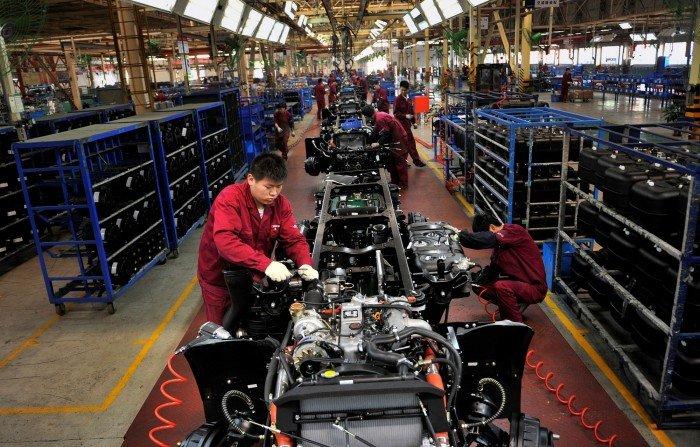 財新8月中國PMI 14月新低 制造業需求趨緩前景蒙陰