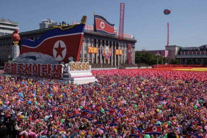 朝鮮閱兵不見洲際導彈 特朗普讚正面表態
