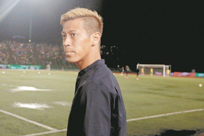 【國際足球友誼賽】馬逆轉柬埔寨 送本田開門黑