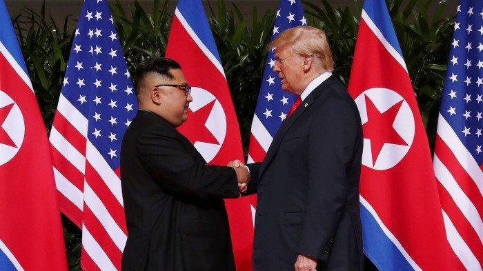 白宮:特朗普接獲金正恩來函 洽商再次峰會