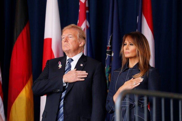 911事件17週年 特朗普向聯合航空班機英雄致敬