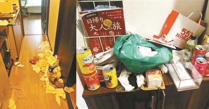 住日本民宿亂丟垃圾破壞 3女嗆:不是來收拾房子的!